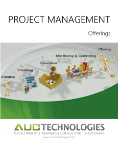 Offerings - AUC Technologies