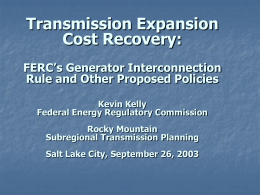 view presentation slides - Wyoming Public Service Commission