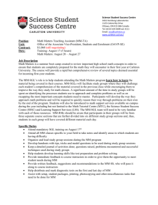 Job Description - Carleton University