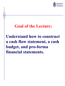 Financial Analysis and Planning Lecture