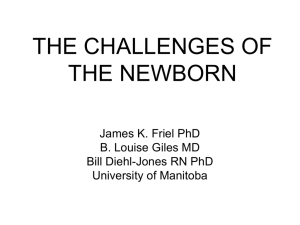 the challenge of the newborn