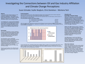 Investigating the Connections between Oil and Gas Industry