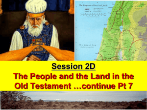 3A Intro to Hist Bks and JOSHUA PPT