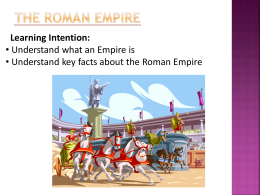 roman empire notes Peter heather makes deft work of a complex era in his masterly updating of gibbon, the fall of the roman empire.