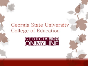 College of Education - Georgia State University
