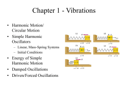 Chapter 2 - Motion in One Dimension