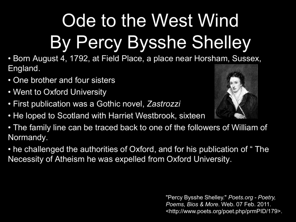Percy Bysshe Shelley (Poet to Poet Book 43)