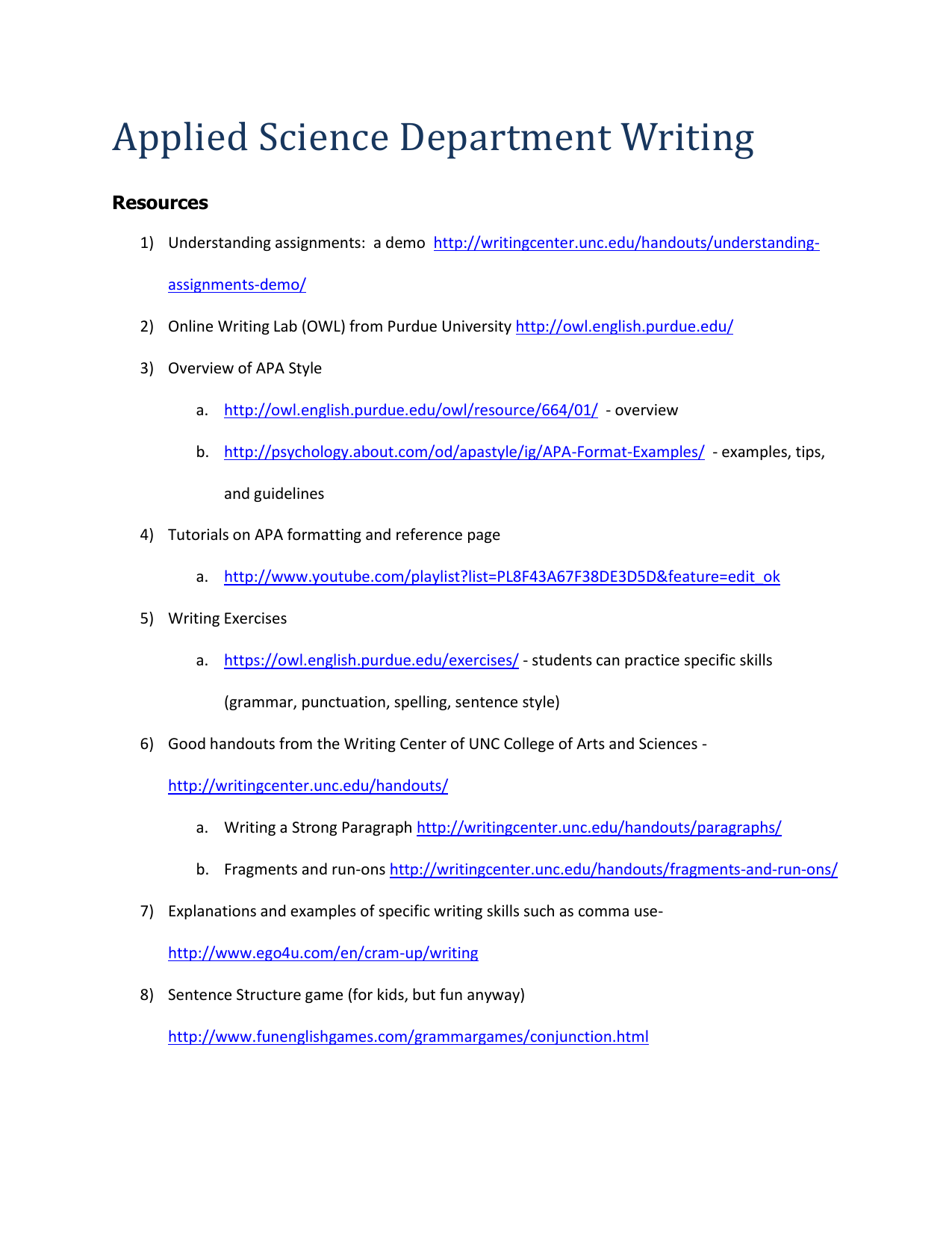 File Applied Science Writing