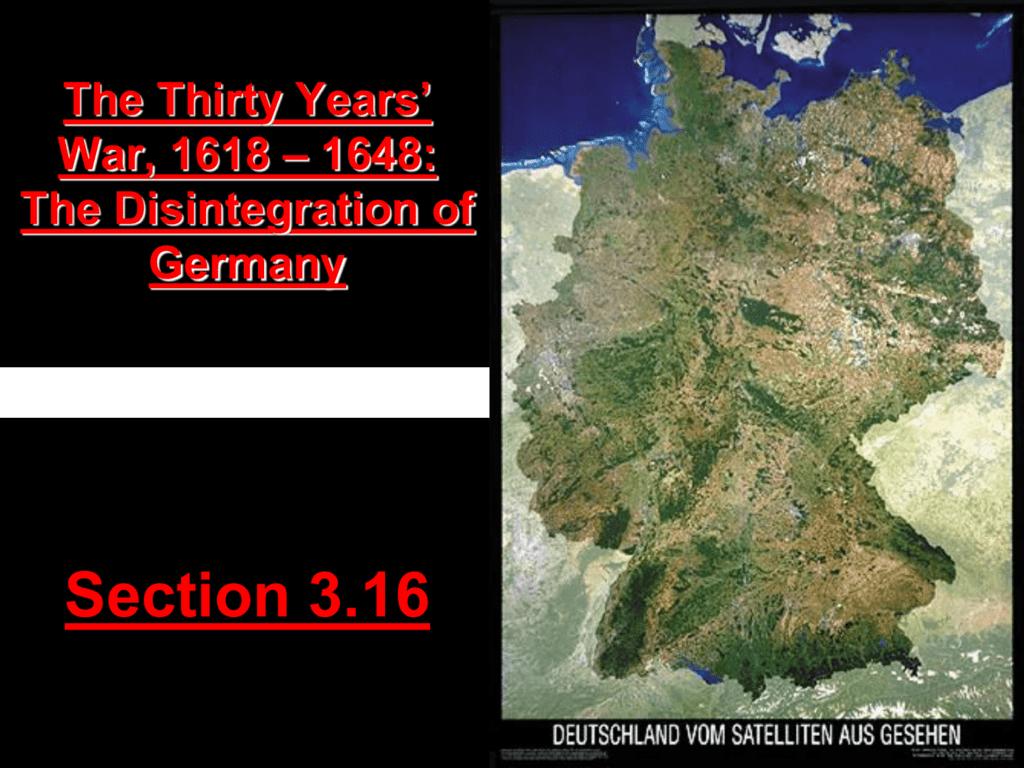 Map Of Germany 30 Years War.30 Years War Powerpoint 30 Years War