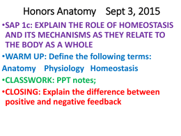 Intro to Anatomy ppt