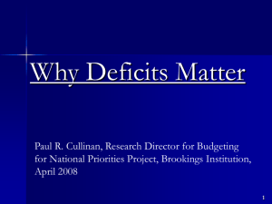 taming the deficit - The Concord Coalition
