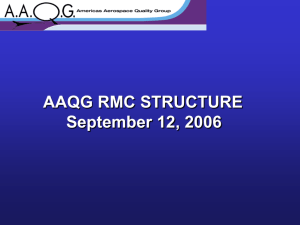 RMC Organizational Structure