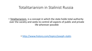 guided reading totalitarianism case study stalinist russia answers