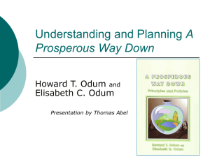 Understanding and Planning a 'Prosperous Way Down'