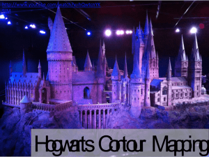 Harry Potter contour mapping
