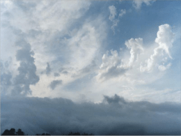 Understanding our Sky: CLOUDS