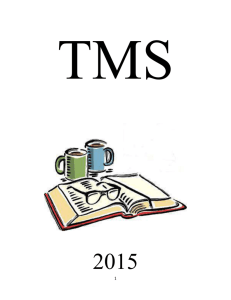 2015 TMS Text book