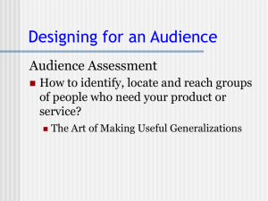 Audience - Courses