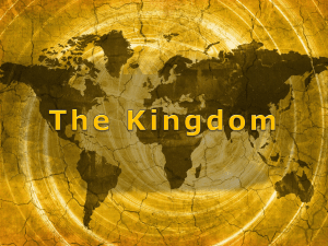 The Kingdom - WordPress.com