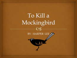 to kill a mockingbird perpetual prejudice essay