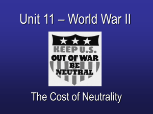 The Cost of Neutrality