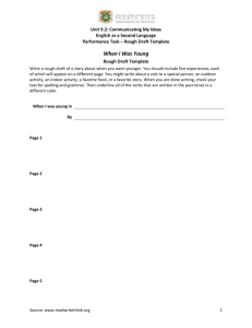 9.2 Performance Task - Rough Draft Template