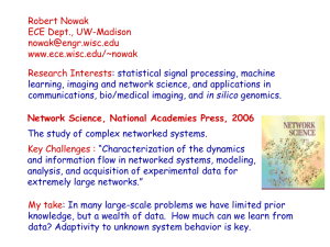 Network Science, National Academies Press, 2006
