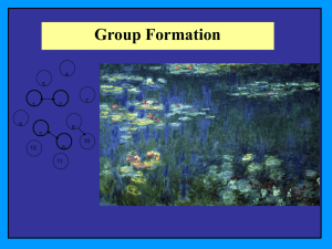 Group Formation Power Point