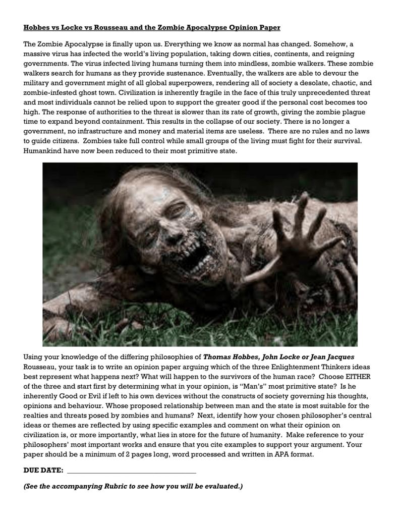 Wonderful Zombie Apocalypse Math Worksheet Photos - Math Worksheets ...
