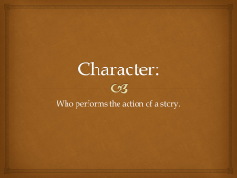 Short Story Character