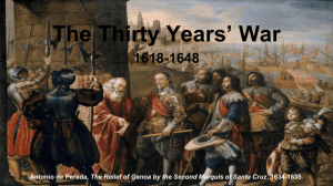 The Thirty Years* War