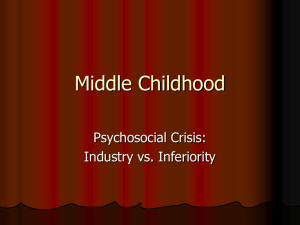 Middle Childhood - Seattle Central College
