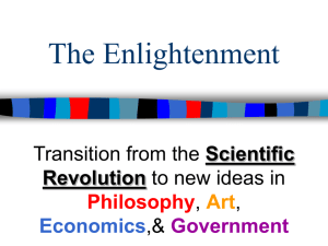 Chapter 29 - Enlightenment Notes 2009-10
