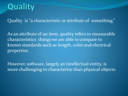 Quality - WordPress.com