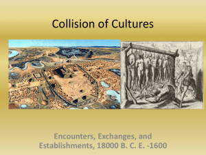 Collision of Cultures