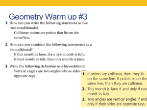 2-5 Reasoning in algebra & geometry