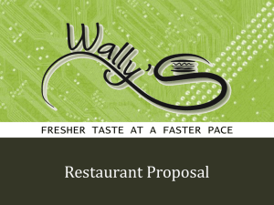 Wally's - Gatton College of Business and Economics