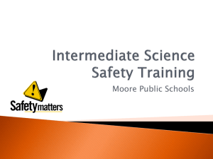 Science Safety Training