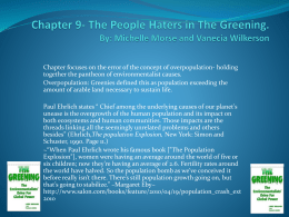 The People Haters - Natural Climate Change