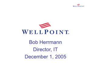 WellPoint Health Networks