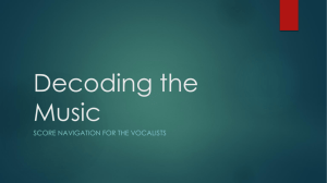Decoding the Music
