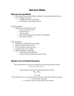 00.Gas Law Notes