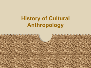 Cultural Anthropology's big names