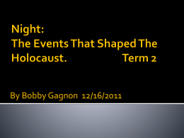 Night PPT By Bobby