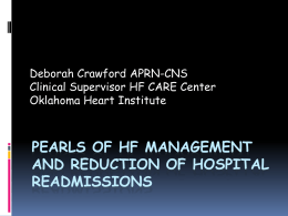 Pearls of Heart Failure Management