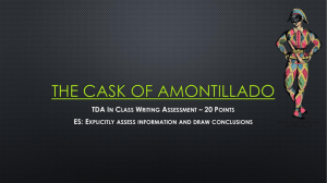 The Cask of Amontilado