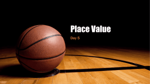 Place Value Day 5 (2015)