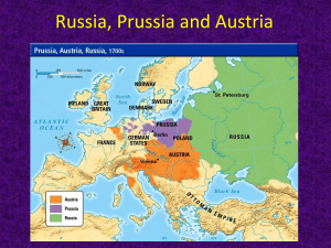 Russia, Prussia and Austria - Parkway C-2