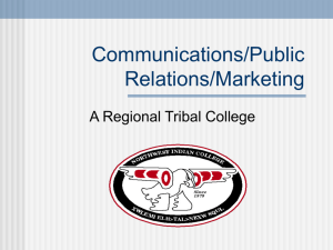 Public Relations/Marketing