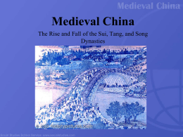 Medieval China PPT
